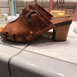 Pikolinos Mules Size 38 Brown